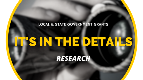 Nuances of Researching State & Local Government Grants