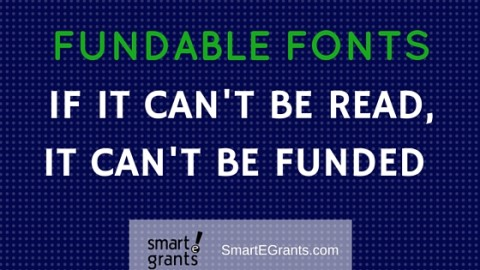 Fundable Fonts: From Word Count to Friendly Proposal Design