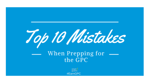 Top 10 Mistakes When Prepping for the GPC