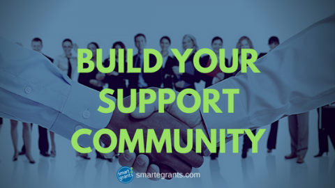 Building Your Grant Support Community