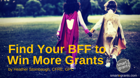 Find Your BFF to Win More Grants