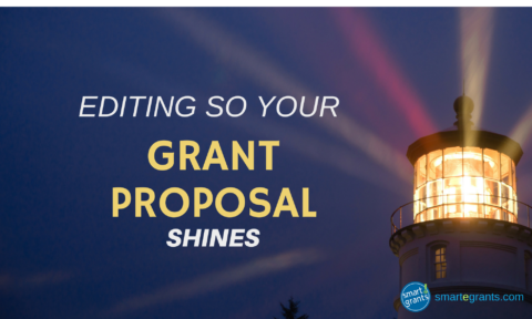 Proposal Editing to Make Your Grant Shine