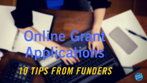 Online Grant Applications: 10 Tips from Funders